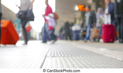 People Commuting to Work - People transfering between...