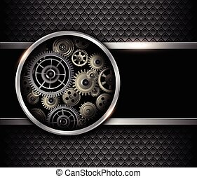 Background 3D gears