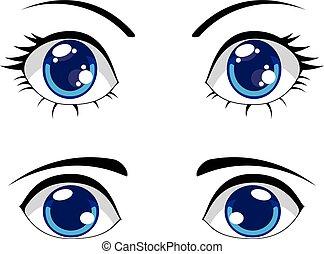 Cute Stylized Eyes