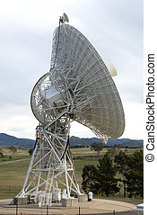 Radio Telescope at Tidbinbilla Space Tracking Centre,...