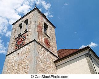 Switzerland, Appenzell - Appenzell, Switzerland - Juli 07,...