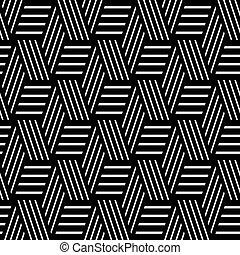 Seamless geometric pattern Lines texture Vector art