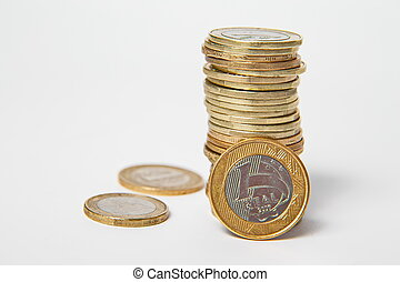 Brazillian Real, coins
