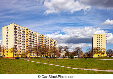 Socialist realism architecture - Typical style of...