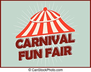 Carnival Fun Fair Abstract - creative vector abstract for...