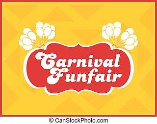 Carnival Fun Fair Abstract - creative vector abstract for...