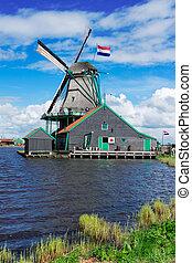 Holenderski, wiatr, mills, ,