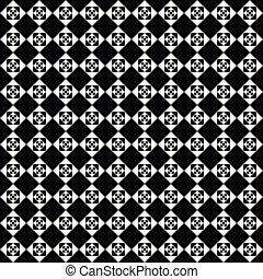 Seamless, vector, patrón, textura