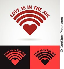 love is in the air symbol