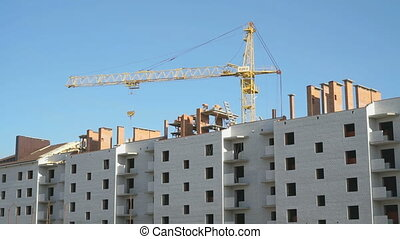 Construction of multi-storey residential building - The...
