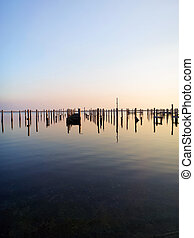 Posts a Plenty - Post from torn up piers due to damage from...