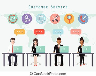call center people - call center and customer service people...