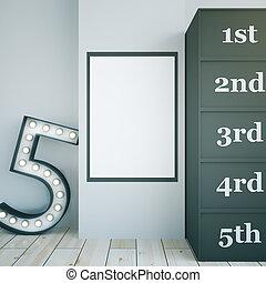 assaisonnement,  5, nombre, salle