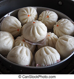 Buns - Chinese meat buns
