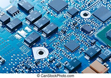 Circuit Board - Circuit board with electronic components