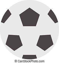 Soccer ball isolated on white illustration. Soccer ball...