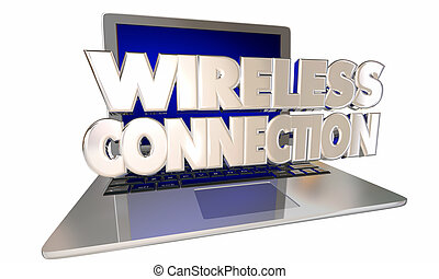 Wireless Connection Mobile Internet Online Website Free WiFi Computer Laptop