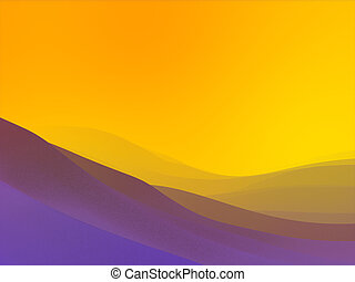 Backgrounds collection - Space sunset pastels