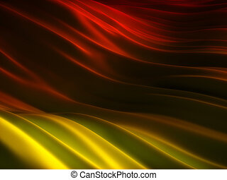 Backgrounds collection - Red and yellow folded surface