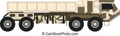 War machine vector illustration.