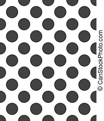 Seamless with black dots