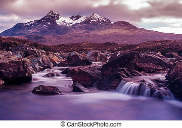 Isle of Skye Mountains Scotland
