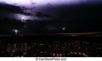 Lighting Storm And Thunder HD