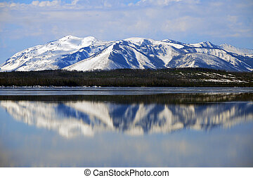 Yellowstone Reflections - Yellowstone National Park
