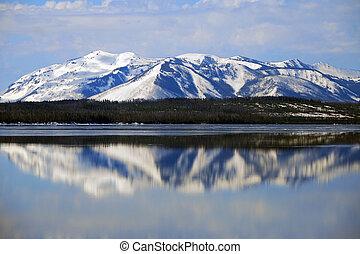 Yellowstone Reflections - Yellowstone National Park