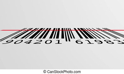 barcode scanning process - scanning process of a EAN Barcode...