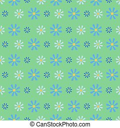 Cornflower Blue Field.Seamless Pattern. - Cornflower blue...