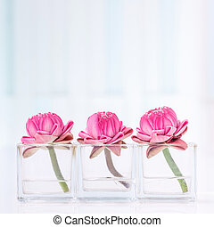 Lotus flower decoration - Lotus flower or water lily...