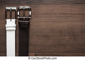 brown and white leather belts - brown and white men's...