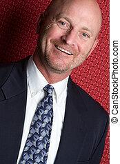 Smiling Businessman - Handsome smiling businessman