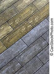 a parquet flooring