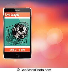 soccer on mobile