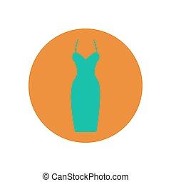 Dress vector illustration