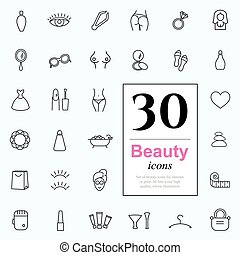 30 beauty icons