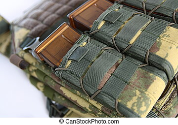 Tactical Vest for army with bulletproof and ammo - Tactical...