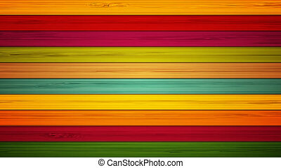 footage colorful wooden background. 4K animation - footage...