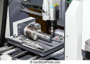 Milling machine, metal processing - Milling machining...