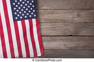 United States Flag - United States of America flag on a...