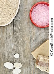 Day Spa - A studio photo of day spa items