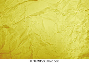 Yellow paper  - Closeup of yellow paper background