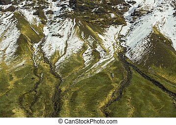 Detail mountain view - Detailed view of some mountain in...