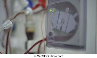 Apparatus for hemodialysis