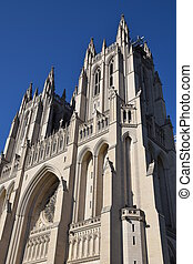 National Cathedral in Washington DC USA
