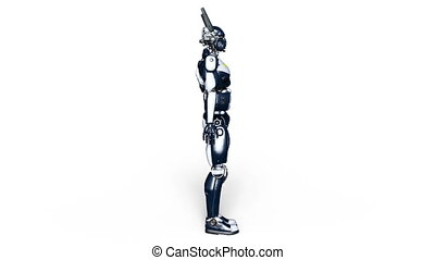 Robot police - Image of a robot police