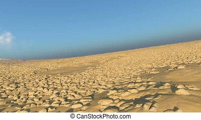 Desert - 3D CG rendering of a desert.