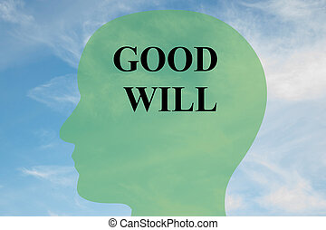 Good Will mind concept